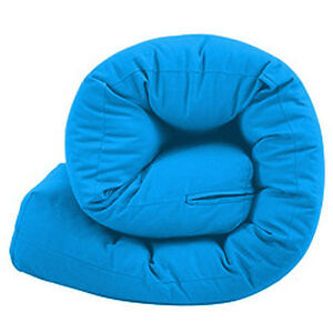 Blue Double Futon Sofabed Replacement Roll Up Folding