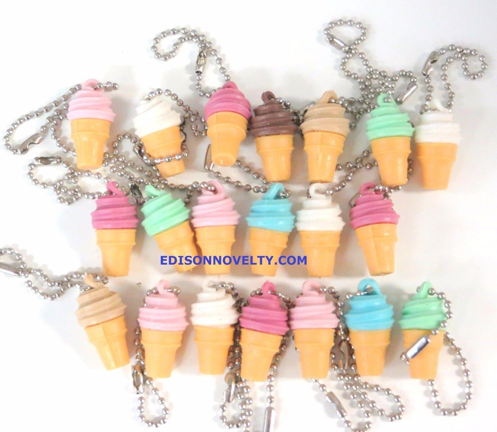 Qualatex 45 Rainbow Swirl Ice Cream Foil Mylar Balloon
