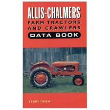 Bok074 Farm Tractors And Crawlers Data Book Fits Allis Chalmers