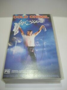 COLD-CHISEL-LAST-STAND-VHS-VIDEO-TAPE-PAL-FREE-POSTAGE