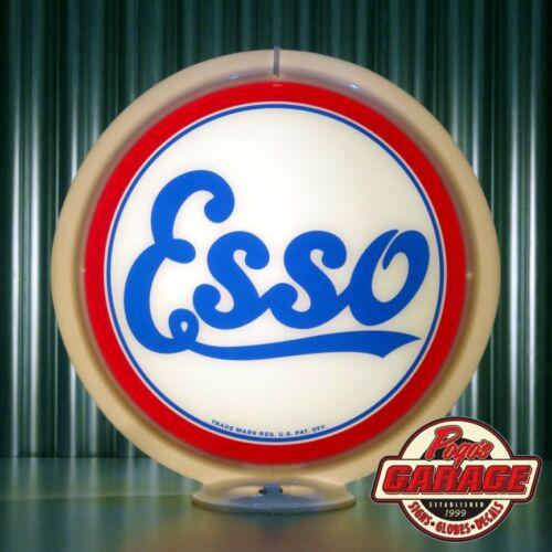 """13.5/"""" Gas Globe Lenses Made by Pogo/'s Garage ESSO Gasoline"""
