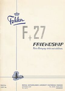 FOKKER-F-27-FRIENDSHIP-DESCRIPTION-AND-PERFORMANCE-1954