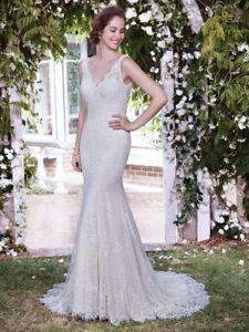 d90a0158212 Image is loading Rebecca-Ingram-Maggie-Sottero-034-Lauren-034-Wedding-