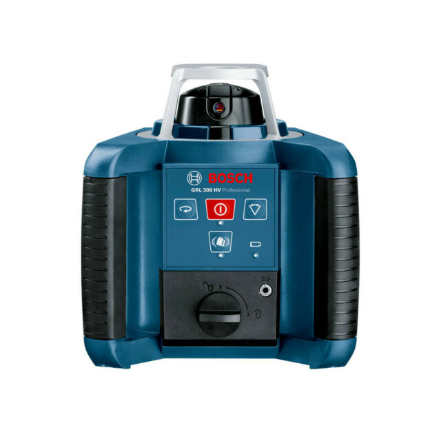 Bosch GRL 500 HCK Self-Leveling Rotary Laser w// Rod and Tripod Package