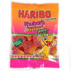Haribo-Rhubarb-amp-Custard-Splats-Sweets-20-x-80g-Bags-Party-Bag-Fillers