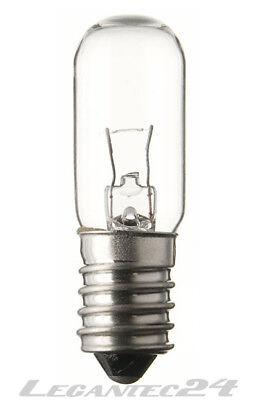 Glühlampe 6V 3W E12 16x45mm Glühbirne Lampe Birne 6Volt 3Watt neu