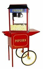 Paragon 1911 Antique 4 Ounce Popcorn Popper Machine And Cart Combo Usa Made