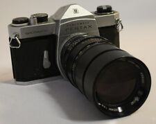 Pentax Honeywell Spotmatic 35Mm Camera W/Vivitar 135Mm 1:2.8 Lens