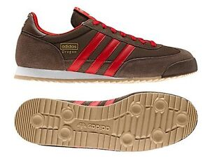 men's adidas red dragon trainers