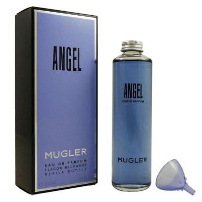 Thierry Mugler Angel 100 ml Eau de Parfum EDP Refill Flacon Nachfüller Recharge