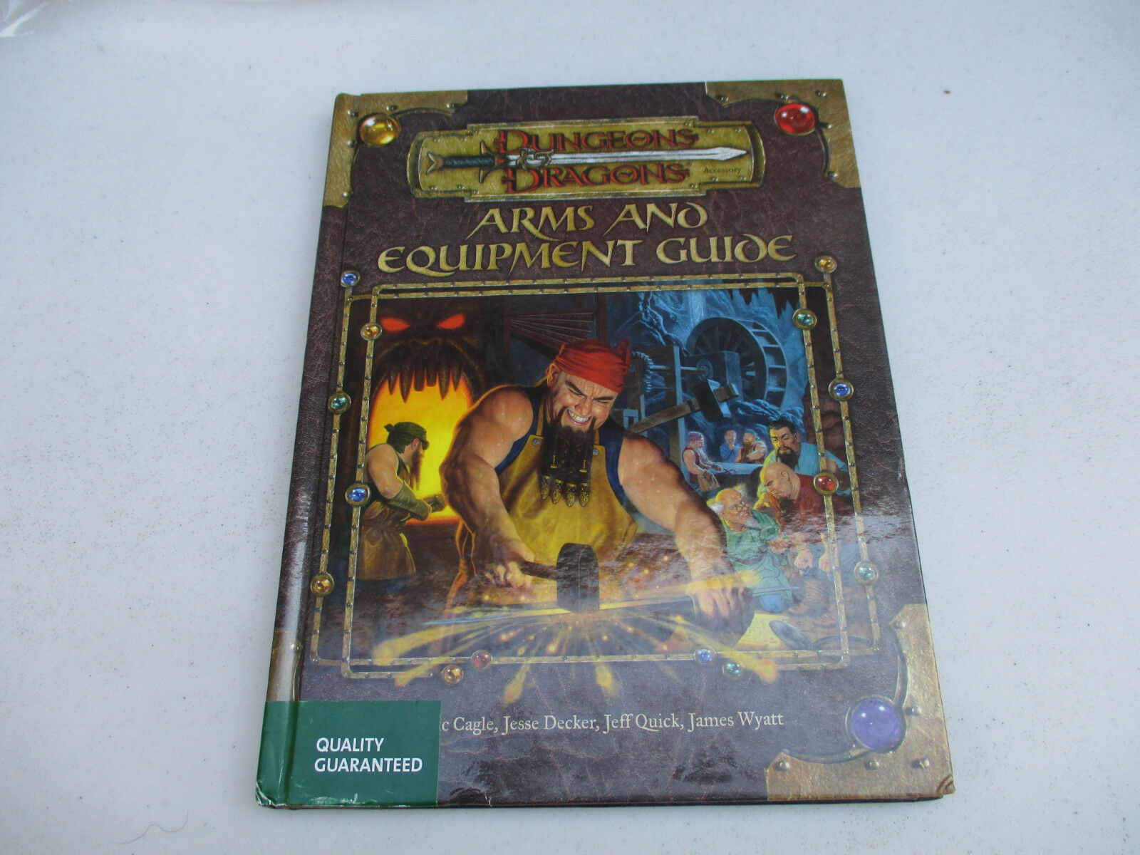 Dungeons & Dragons Arms and Equipment Guide Fantasy Roleplaying Accessory D&D 03