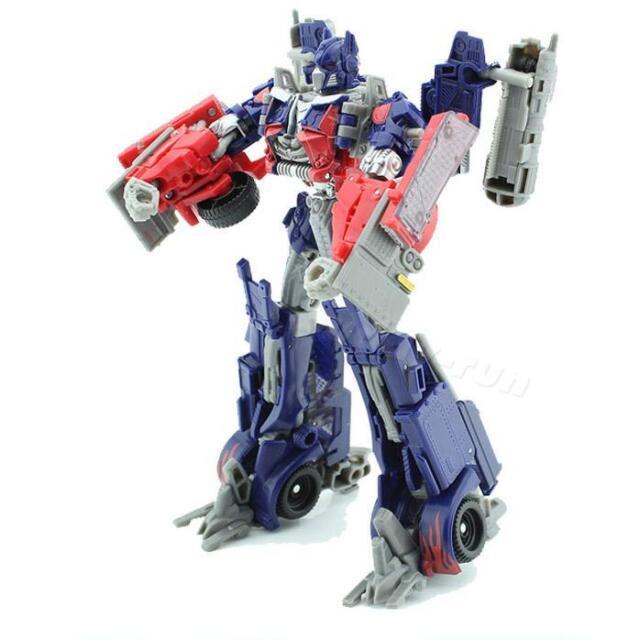 Pro Transformers Robots Figure Kids DIY Toy Assembling Commander Building Toys