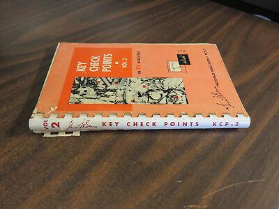 key check points in tv receivers vol 2 howard w sams kcp 2 spiral free ship 1956 ebay. Black Bedroom Furniture Sets. Home Design Ideas