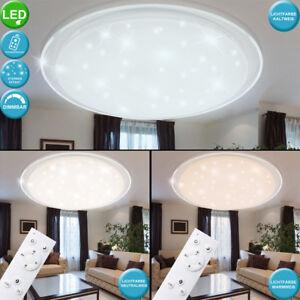 Details zu LED Decken Leuchte Sternen Himmel 3-Stufen Dimmer Fernbedienung  Lampe Wohnzimmer