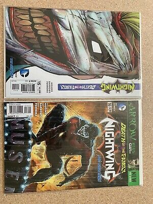 Detective suicide Squad 15 New 52 Death of the Family 5 of 9 Die-Cut Nightwing