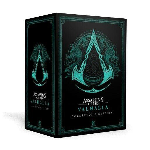 Assassin's Creed Valhalla Collector's Edition... No Game/DLC! Collectibles Only!