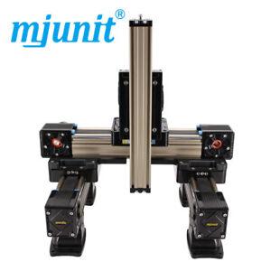 mjunit-xyz-Belt-Drive-Linear-Actuator-Kit-linear-guide-rail-with-800x800x200mm
