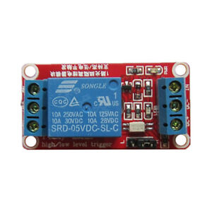 1-Channel H//L Level Triger Optocoupler Relay Module for Arduino DC 5V//9V//12V//24