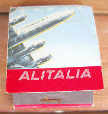 ALITALIA - matchbox, boîte d'allumettes VINTAGE