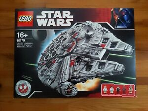 Lego-Star-Wars-Ultimate-Collector-039-s-Millennium-Falcon-First-Edition-Set-10179