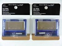 2x Maybelline Ultra-brow Powder 10 Light Brown Eyebrow Color Makeup 402