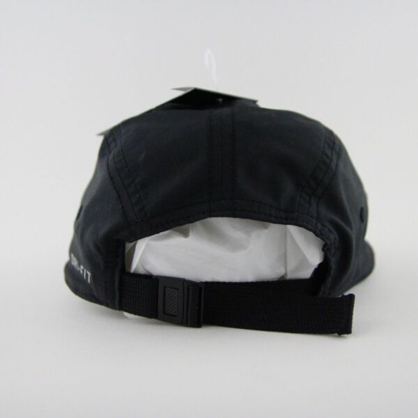 new styles 0dd9f b9f5a Men s Nike AW84 Windrunner Five 5 Panel Black Running Cap Hat OS ...