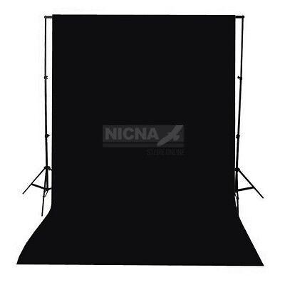 Photography Backdrop Black Brackground Cloth Non-woven Fabric 1.5x3m 5x10ft