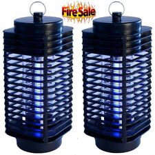 2 Pack Electric Mosquito Fly Bug Insect Zapper Killer Trap Lamp Stinger Pest BT