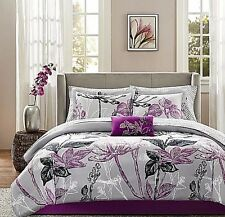 Adult Comforter Sets Queen Size Bedding Bed In A Bag 9 Pc Sheets Linens Bedroom