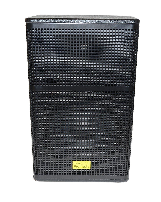 Sonic pro Audio - DMWL-15 - 2-fach Profi Lautsprecher Holz Bemalt Schrank