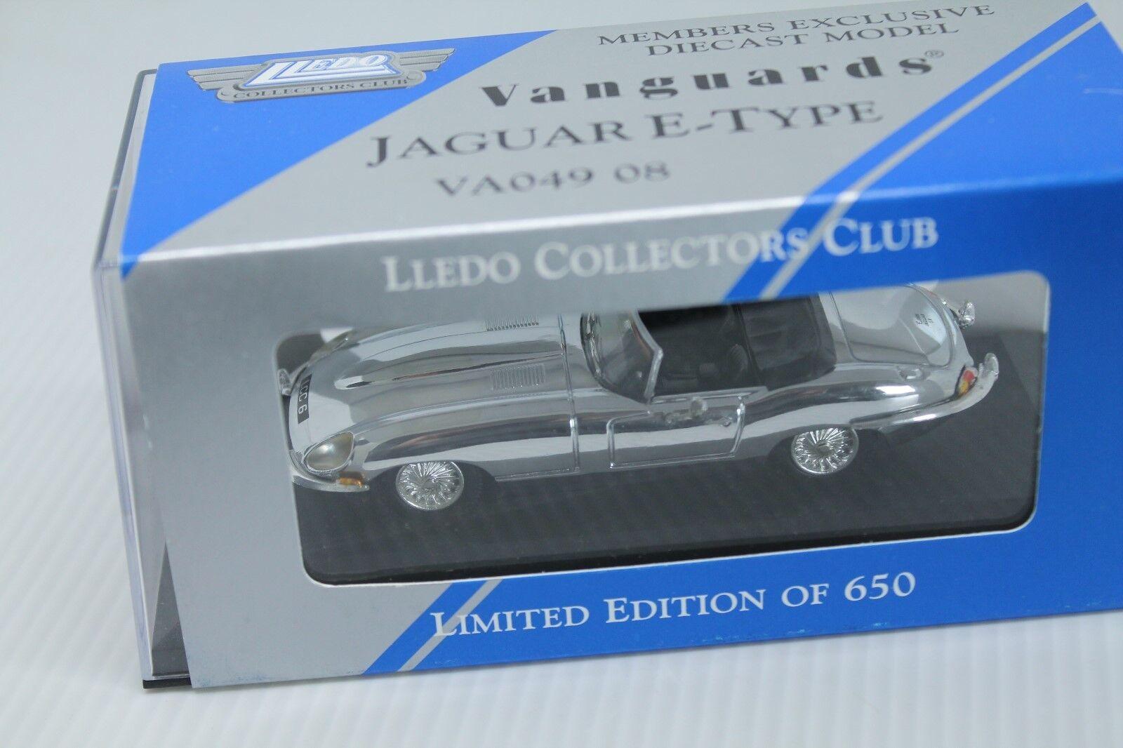 VANGUARDS (Corgi)  Jaguar E-Type  BOXED  1 43   Limited 650 pieces  haute qualité et expédition rapide