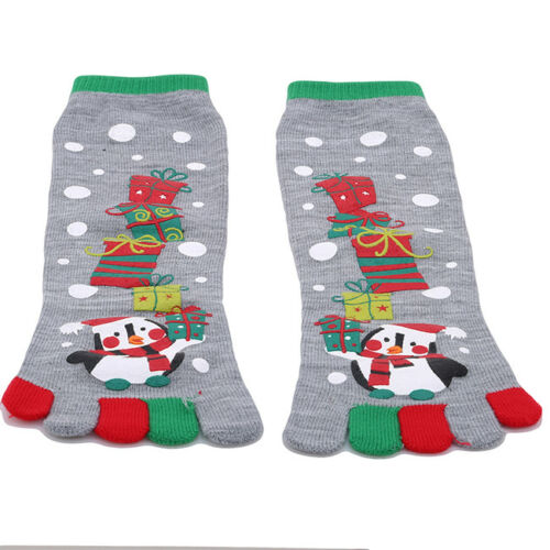 Unisex Xmas Teen Socks Christmas Socks Santa Claus Snowman Decoration G