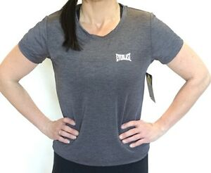 5212f3bfb3dd Brand New Women s EVERLAST Short Sleeve Gym Training Top Active Wear ...