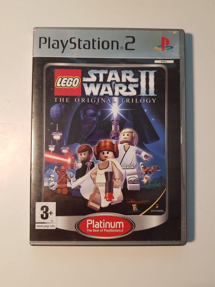 Lego Star Wars II, PS2