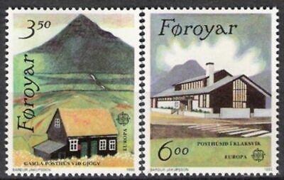 Cept 1990 Postfrisch Färöer Nr.198/99 ** Europa