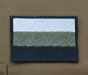 Ricamata-Embroidered-Patch-034-Subdued-Russia-Flag-034-with-VELCRO-brand-hook