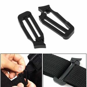 2X Molle Strap Buckle Hook Hanging Nylon Belt Carabiner Clip On Bag Vogue sh6