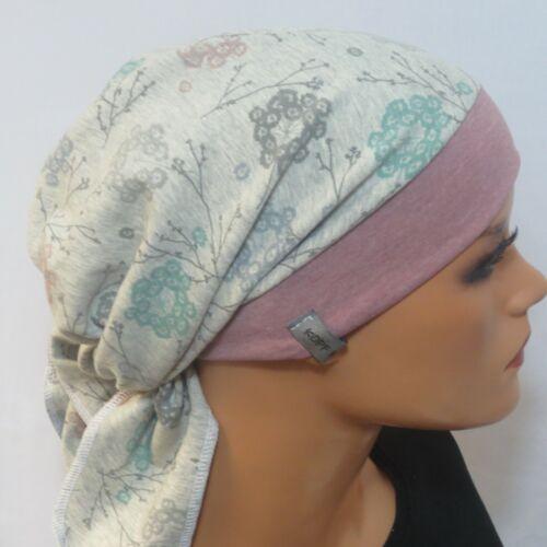 Einzigartige Kopftuchmütze//Chemomütze  modisch praktisch bequem TOP QUALITÄT