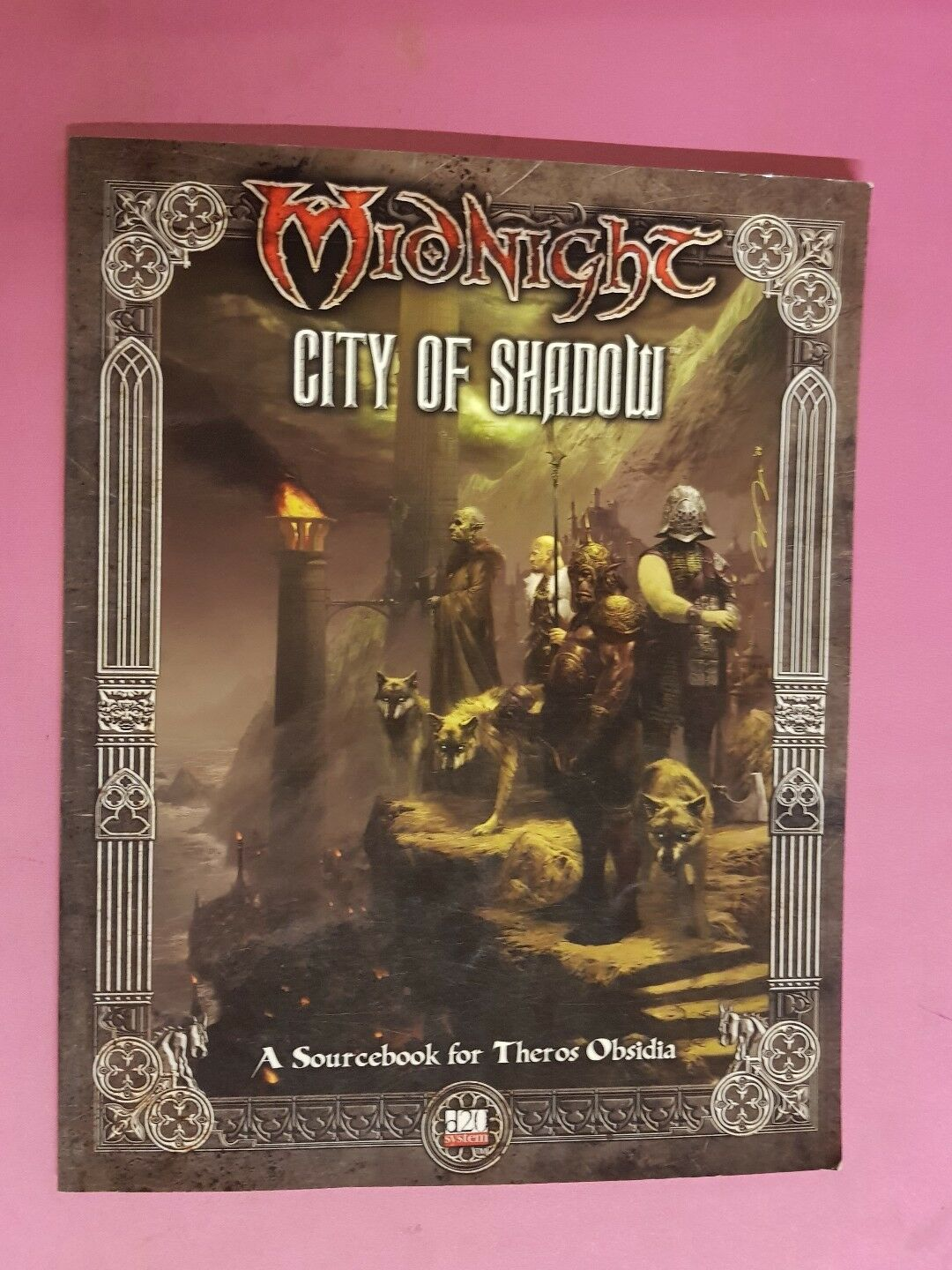MIDNIGHT - CITY OF SHADOWS - RPG FANTASY FLIGHT 3.5 DND ROLEPLAY ROLEPLAYING D&D