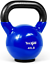 thumbnail 9 - Yes4All Vinyl Coated Kettlebells With Protective Rubber Base – Weight Available: