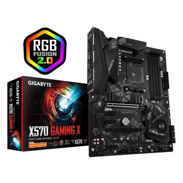 Gigabyte X570 GAMING X ATX Motherboard AMD Ryzen AM4 4xDDR4 HDMI USB