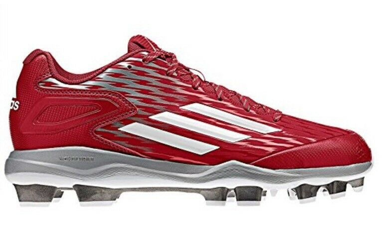 New Adidas Men's PowerAlley 3 TPU Baseball Cleat