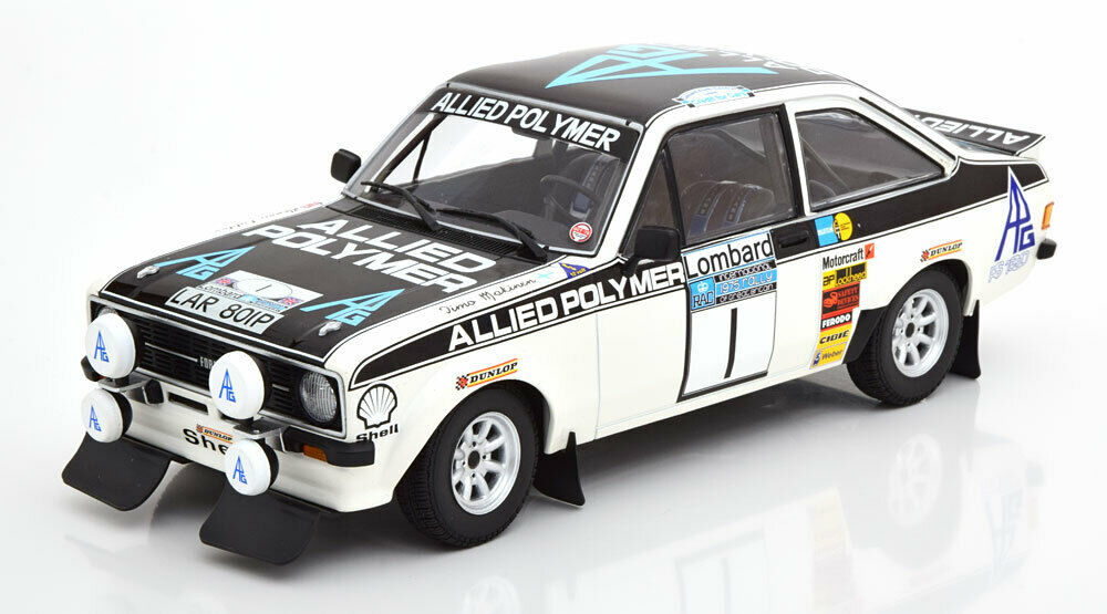 Minichamps Ford Escort RS 1800 Allied Polymer Winner Lombard RAC Rally 1975 1 18
