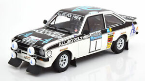 Minichamps Ford Escort Rs 1800 Alliés Polymère Gagnant Lombard Rac Rally