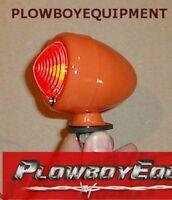 6v 6 Volt Orange Bullet Tail Light For Allis Chalmers Tractor B C Ca Wd Wd45