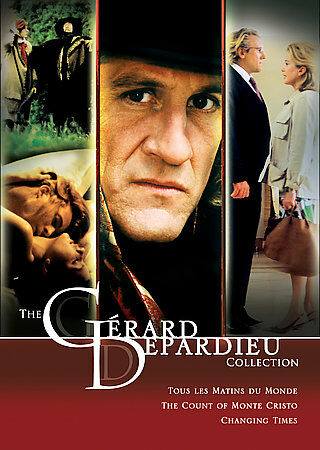 The Gerard Depardieu Collection (DVD, 2007, 5-Disc Set) NEW IN SHRINK WRAP