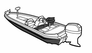NEW BOAT COVER CHARGER 195 TF 1997-2005