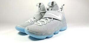 Nike-Lebron-XIV-MAG-Marty-McFly-Future-Shoes-Men-039-s-US-Size-10-852405-005