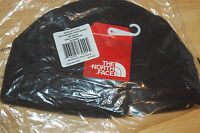 The North Face Unisex Mens Womens Beanie Hat Fleece Black Small/medium Flashdry