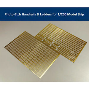 Photo-Etched-PE-Handrail-amp-Ladder-for-1-200-Scale-Model-Ship-CYE010